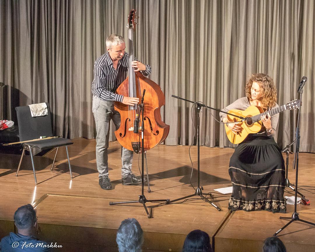 Peter Janson ja Afra Rubino