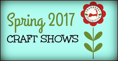 Cranberry Collective Spring Craft Shows 2017