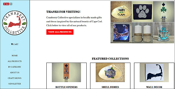 Cranberry Collective Updated Website