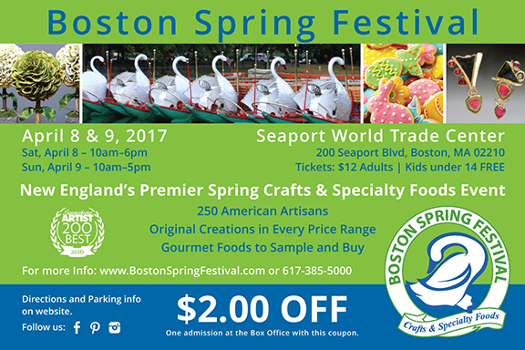Boston Spring Festival Coupon