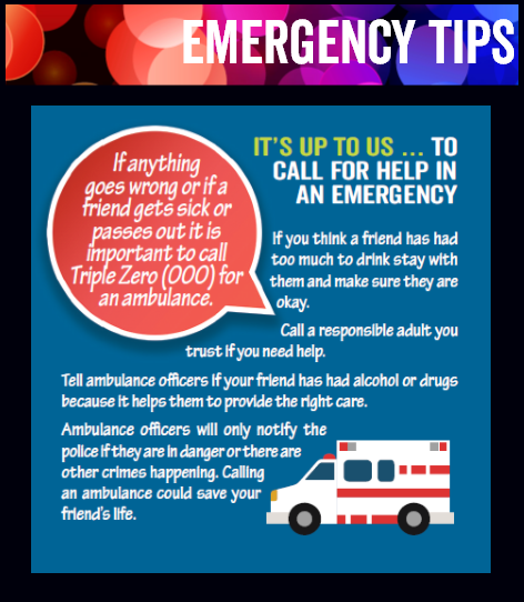 Celebrate Safe and Well Campaign: Emergency tips