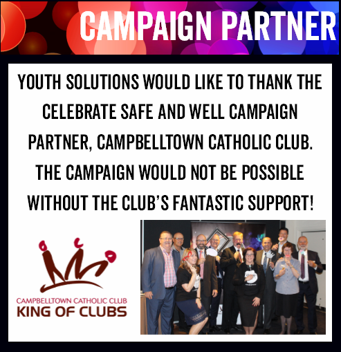 Thank you Campbelltown Catholic Club, our campaign partner