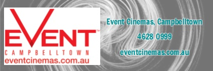 Sponsor: Event Cinemas Campbelltown
