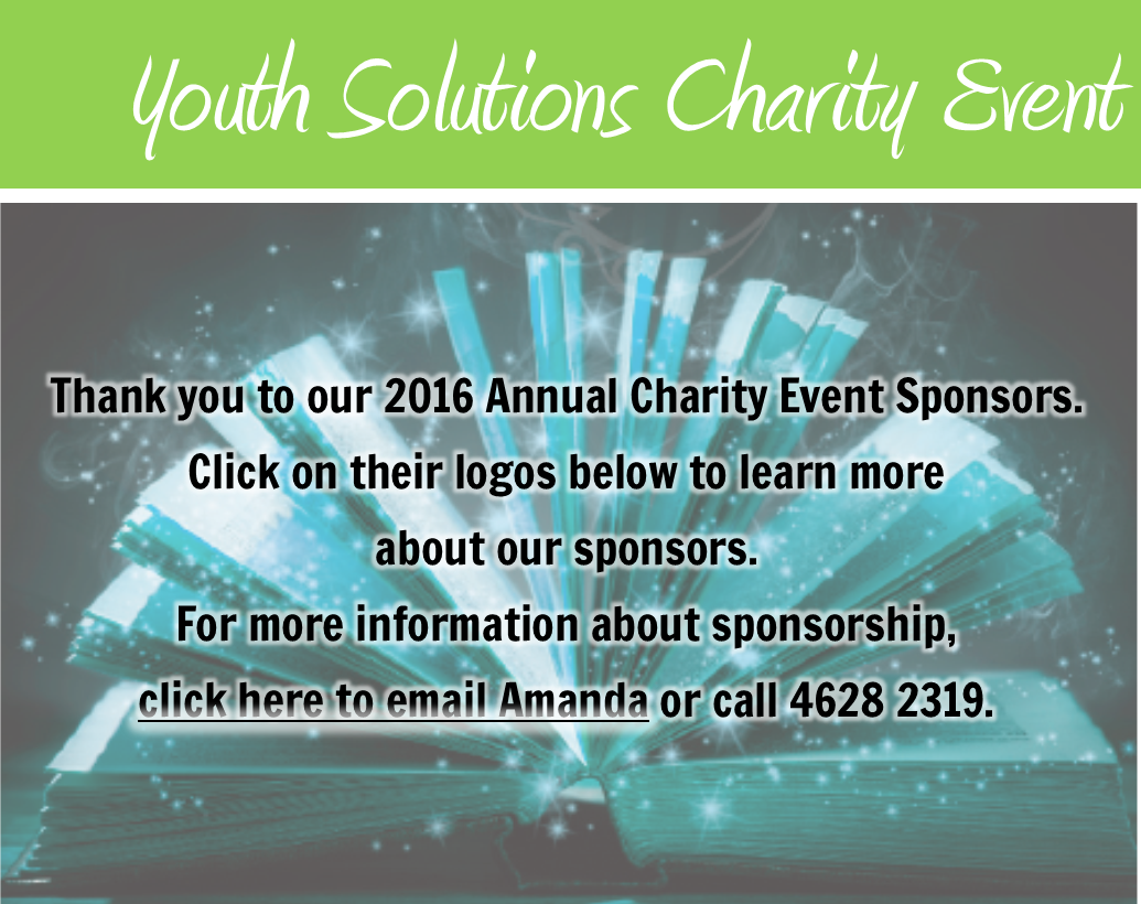 Sponsor Youth Solutions' Charity Event!