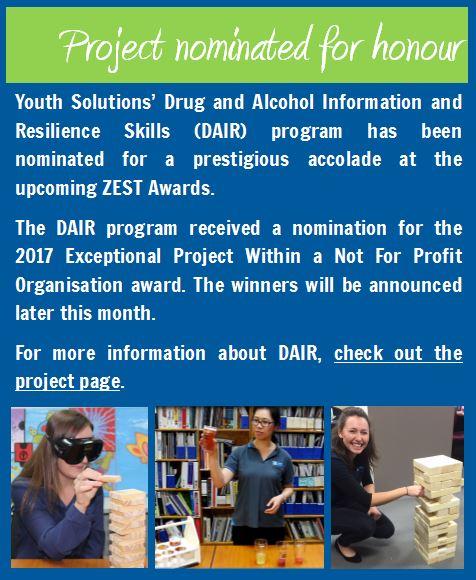DAIR program nominated for award!