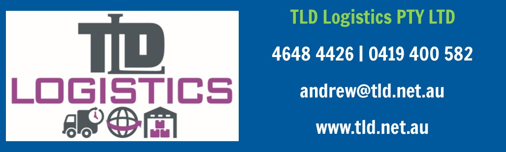 Golf Day Sponsor: TLD Logistics