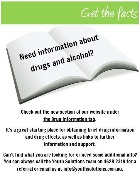 Need information about drugs and alcohol? Click here