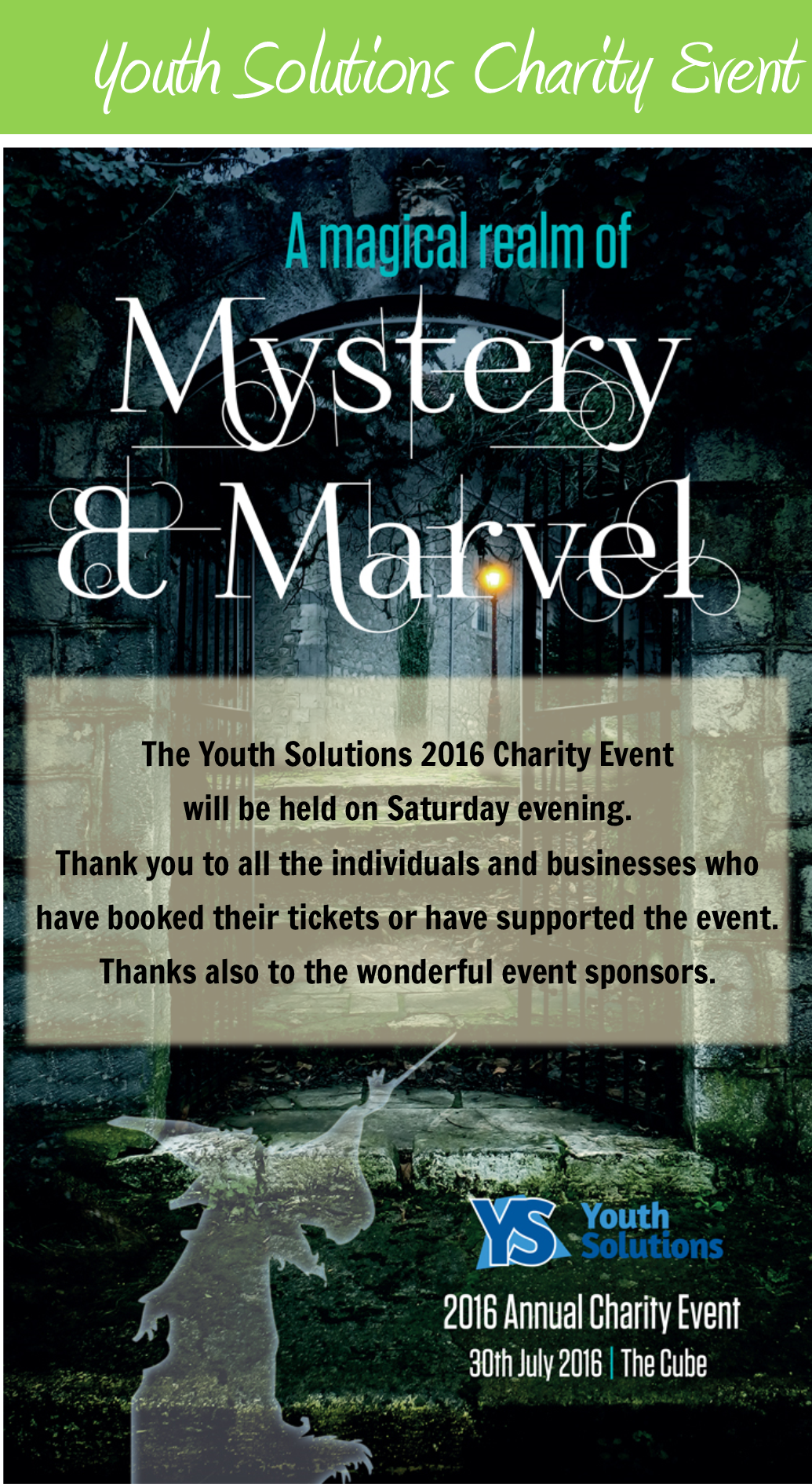 Youth Solutions Charity Event Sponsors
