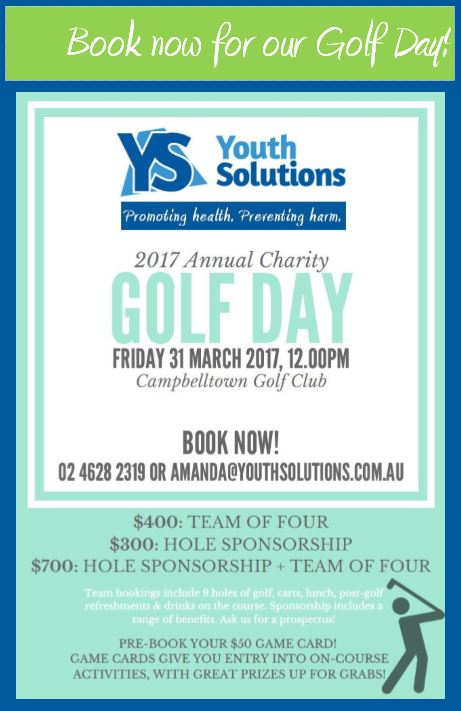 Join us for the Golf Day