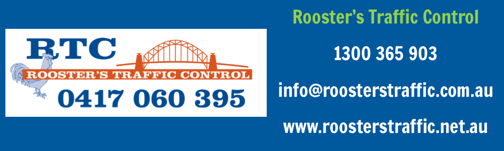 Golf Day Sponsor: Roosters Traffic Control