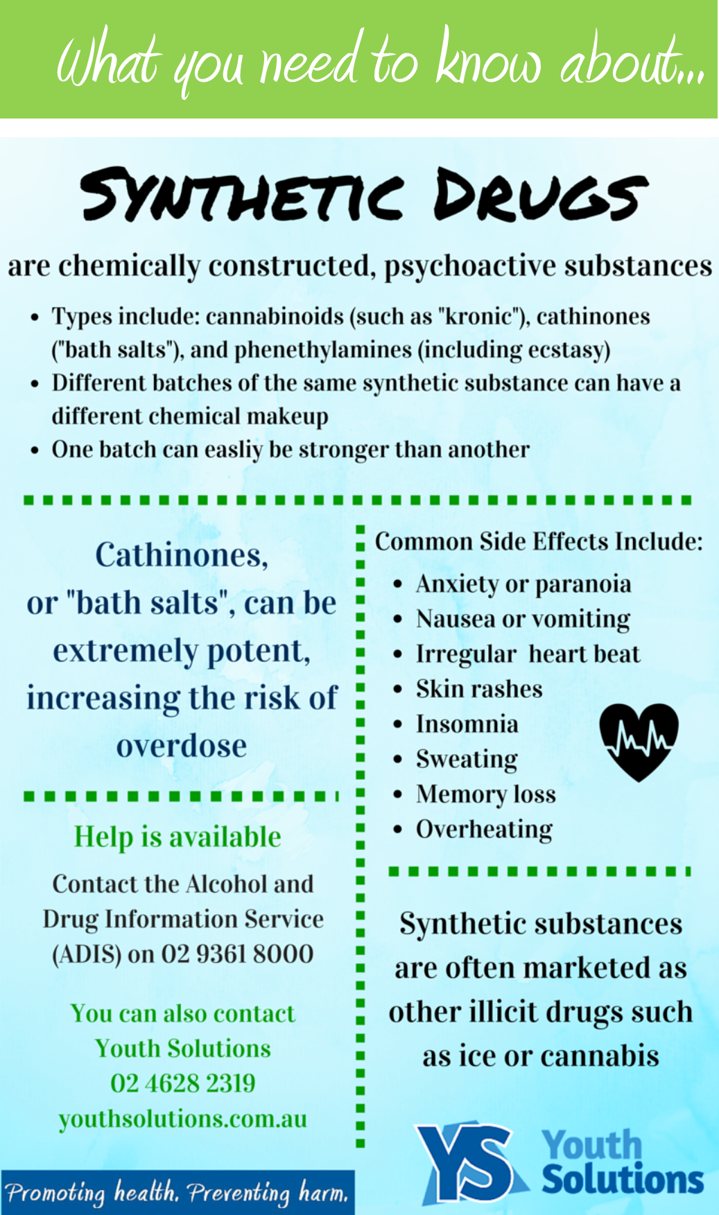 What you need to know about ... synthetic drugs