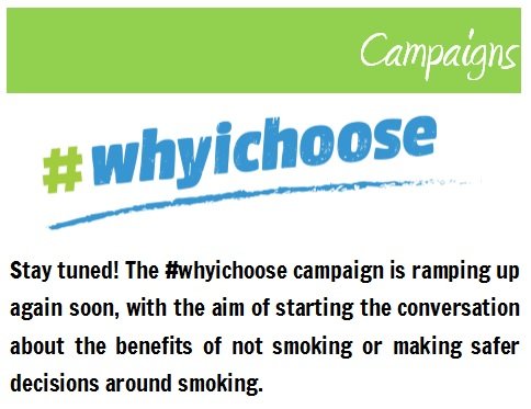 Youth Solutions' #whyichoose campaign
