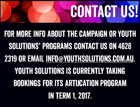 Contact us for campaign info or to book a workshop