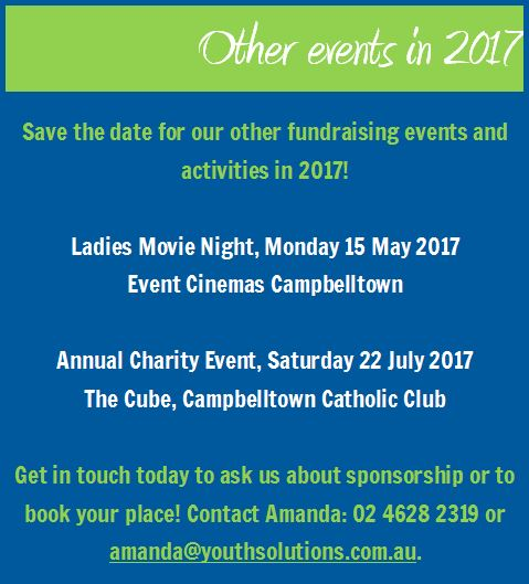 Save the Date - other events in 2017