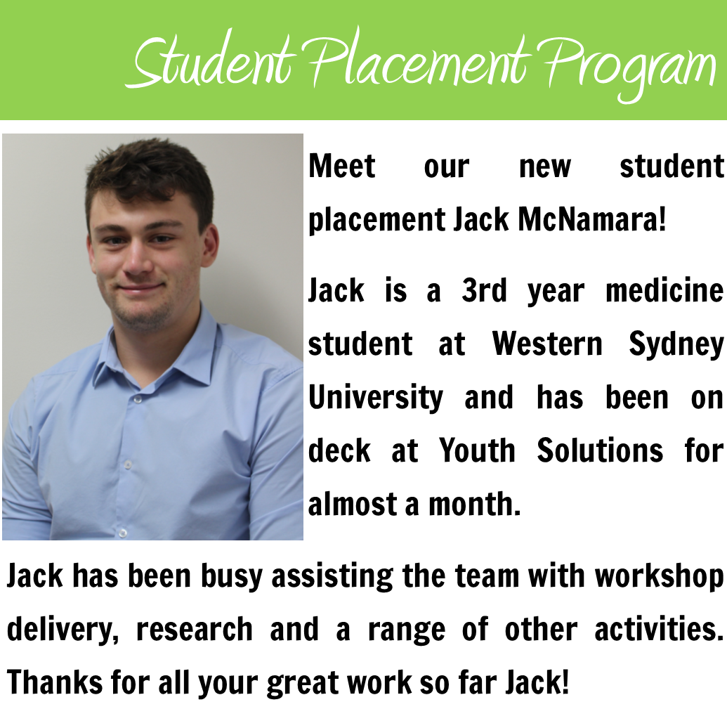 Meet our Student Placement Jack McNamara