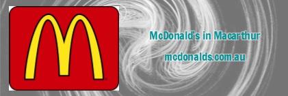 Sponsor: McDonald's in Macarthur