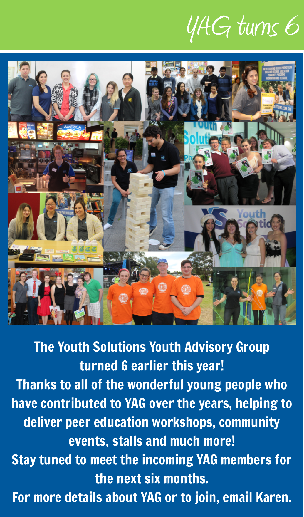 Youth Solutions YAG turns 6