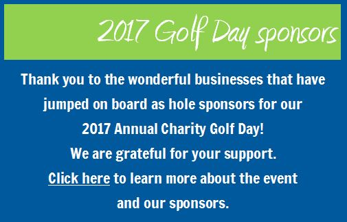 Thank you 2017 Golf Day Sponsors