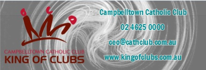Sponsor: Campbelltown Catholic Club