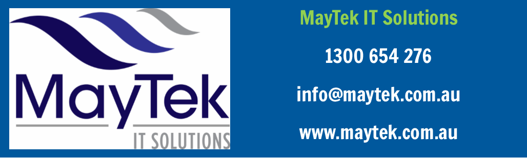 Golf Day Sponsor: MayTek IT Solutions