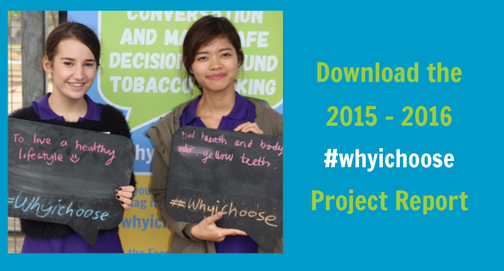 #whyichoose project report