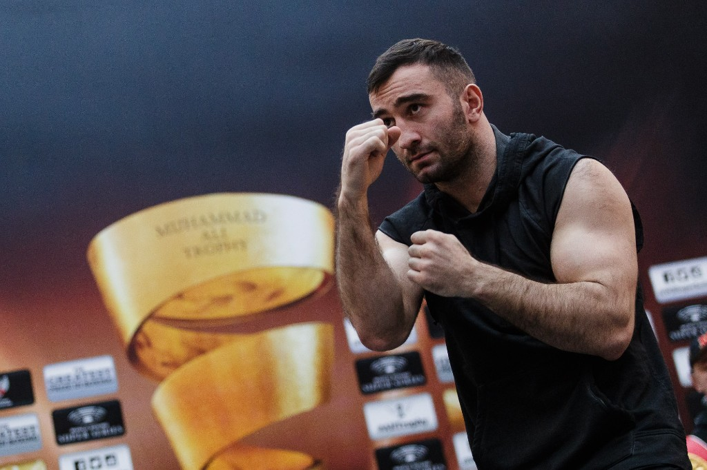 PHOTOS: Gassiev and Dorticos held public workout in Sochi