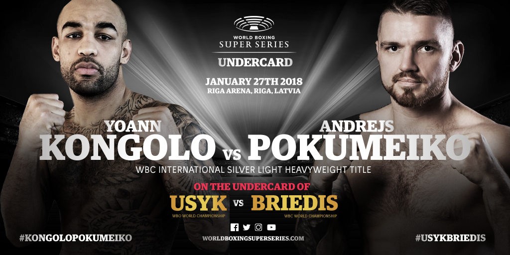 Kongolo and Scandi stars Nielsen and Wallin on Usyk-Briedis undercard