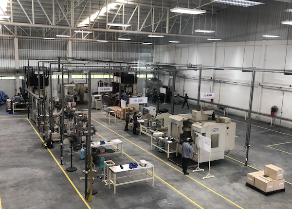 Redflow stack line at new Thai factory