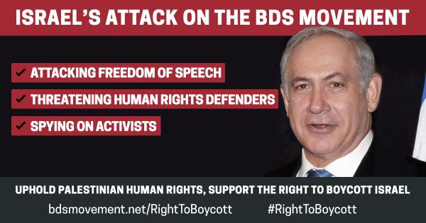 #RightToBoycott