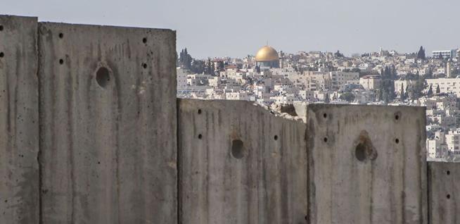 Jerusalem behind The Wall