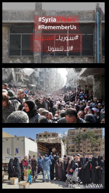 UNRWA Syria Crisis - 5 Years