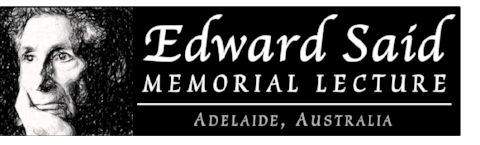 Edward Said Memorial Lecture 25 Nov 2017