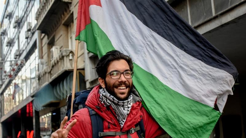 Benjamin Ladraa Walking 5000km for Palestine