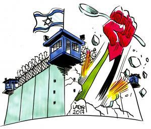 Addameer - Latuff cartoon