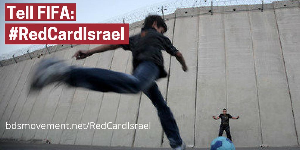 #RedCardIsrael