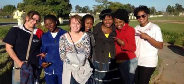 Kandice Heenan in Africa