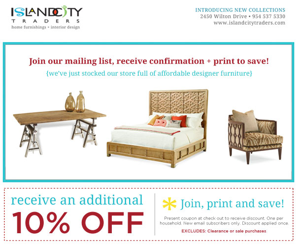 Island City Traders - Affordable Designer Furniture