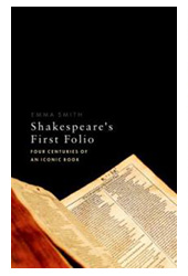Shakespeare's first folio book cover