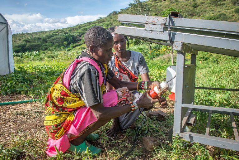CAFOD Energy Access project in Kenya