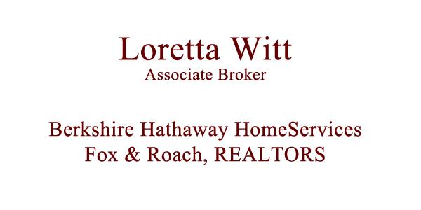 Loretta Witt, Realtor