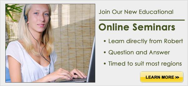 Online seminar slider image