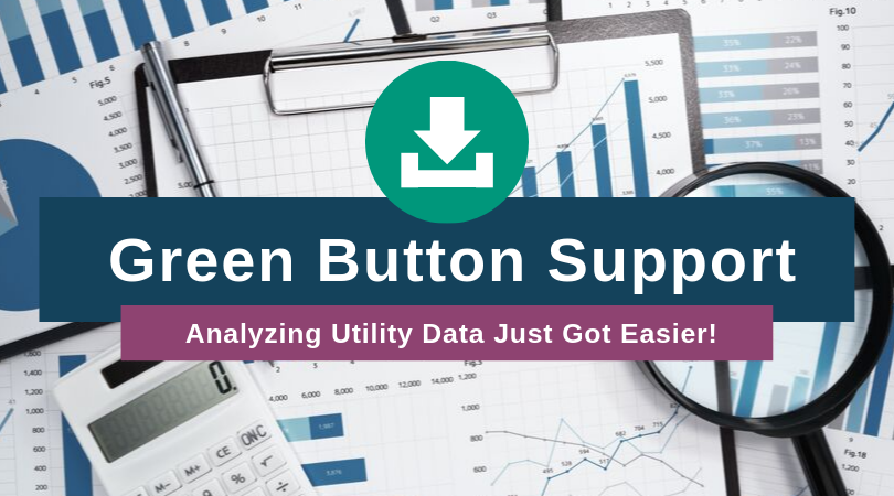 Green Button Support - Analyzing Utility Data Just Got Easier!