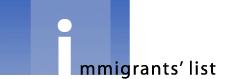 Immigrants' List