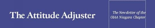 The Attitude Adjuster - The Newsletter of the OIAA Niagara