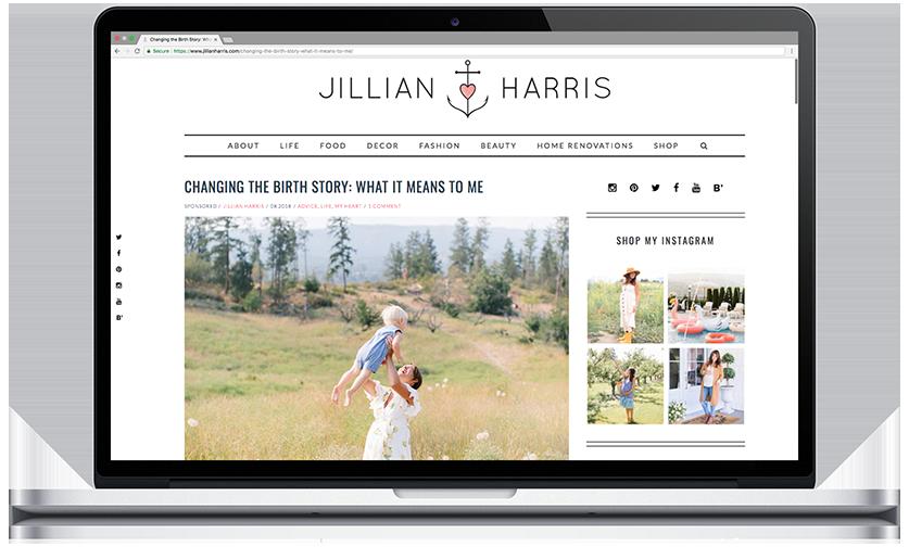 Jillian Harris Blog Post