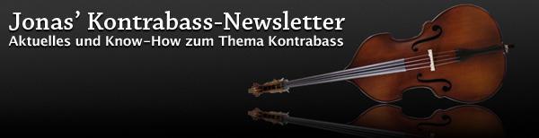 Jonas' Kontrabass-Newsletter