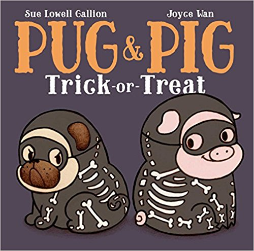 Pug and Pig Trick or Treat