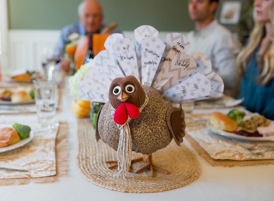 Turkey on the table