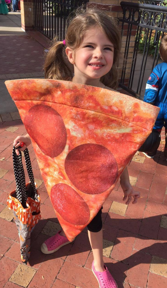 Pizza costume winner