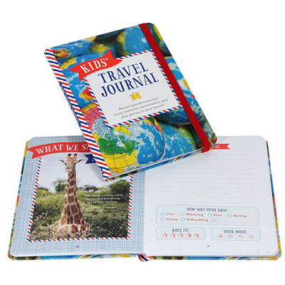 Kid's Travel Journal by Peter Pauper Press